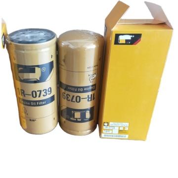 Excavator Engine Spare Parts  Oil Filter 1R-0739