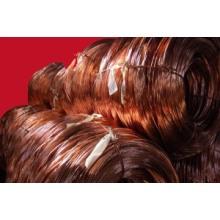 Cobre de chatarra de alambre (Millberry) 99.99%