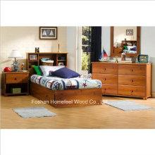 Kids Twin Mates Storage Bed 4 Piece Bedroom Set