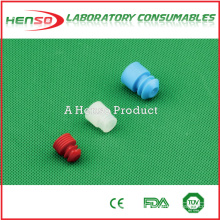 Henso Plastic Test Tube Cap- flange plug type