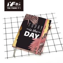 Heute ist der Tag PU Hardcover Notebook
