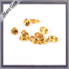Сияющий Прозрачный Желтый Топ Класса Натуральный Драгоценный Камень Цитрин