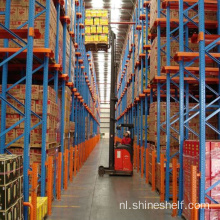 Cold Warehouse Shelving Drive in het systeem