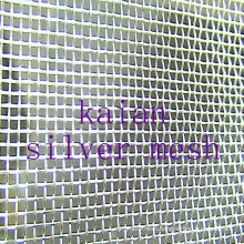 Wrapped Pure Silver Mesh / Sterling Silver Mesh for battery/electro-----30 years factory hot sale