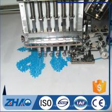 Boa 15 cabeças de lantejoulas e máquina de bordar computadorizada