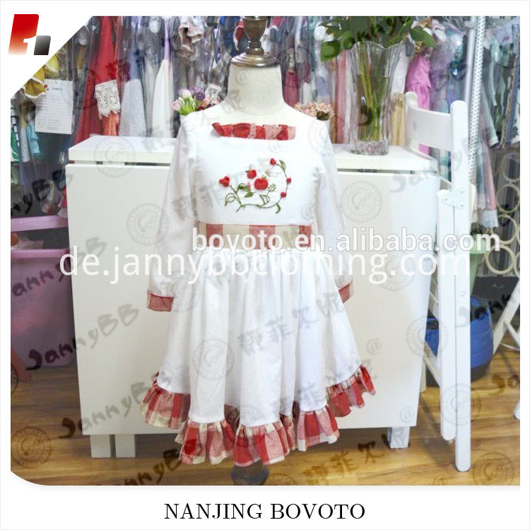girl red$white dress