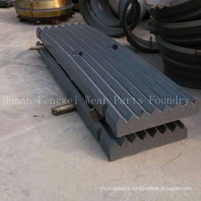 Ore Mining Jaw Crusher with Wear-Resistant Jaw Plate