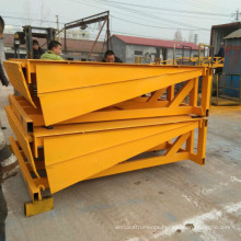 Hontylift Adjustable mobile container unloading yard dock ramp for truck price