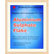 Сульфат алюминия Хлопь для очистки воды химических веществ