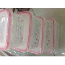 2015 melhor venda de conjuntos de recipientes de comida de plástico
