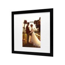 Amazon hot sale wholesale custom black frame display photo wedding picture frame for decoration