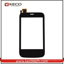 8 años fabricante de piezas de teléfono móvil negro pantalla táctil para Fly E154