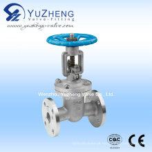 Válvula de porta flangeada de aço inoxidável (Z41W-16P)