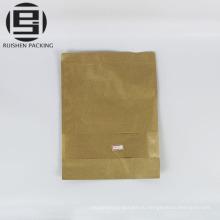 Крафт-бумага мешок сухофруктов мешки для хранения