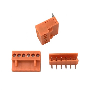 3,96 MM Pitch Orange PCB Steckbare Klemmenblöcke