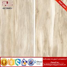 China materiais de construção vitrificada de madeira piso de cerâmica e azulejos