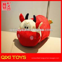 Novelty design high quality red bull tissue box