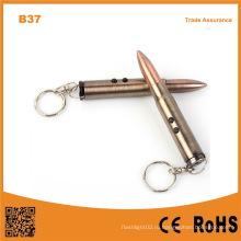 Многофункциональный ключ света и лазерного света с Hammer Ballpoint Pen фонарик