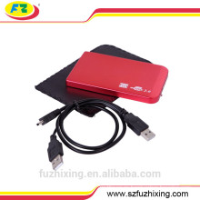 Caja / estuche de disco duro USB 2.0, caja / estuche de disco duro