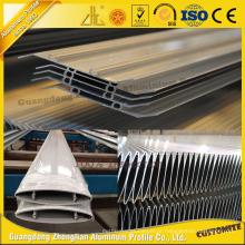 Alumínio anodizado horizontal da grelha 6063t5 para materiais de construção do metal