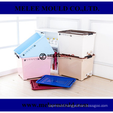 Plastic 70L Stackable Container with Wheel Mould