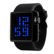 japan movement watch time SKMEI Fashion large display lcd waterproof watch