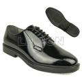 Calçados oficiais da polícia militar com padrão ISO