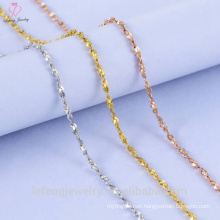 Silver Jewelry 925 Pure Sterling Silver Chain Necklace