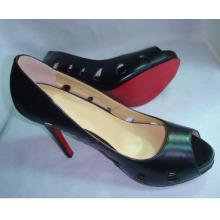 2016 Fashion High Heel Ladies Peep Toe Sandals (HCY02-130)