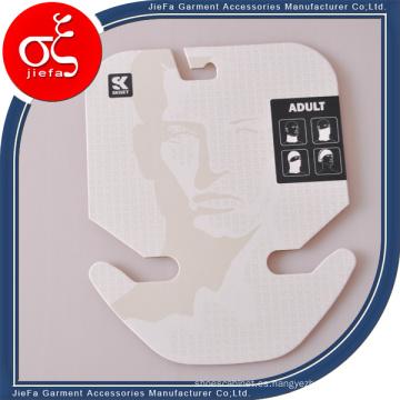 Etiqueta personalizada de cartón de 2 mm de grosor para bufanda / joyería