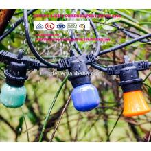 Regenfeste Feiertags-Hochzeits-Innenweihnachtsdekoration RGB LED-Schnur beleuchtet mit US-EU-Stecker ST002