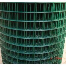 ПВХ, покрытый зеленой сварной сеткой