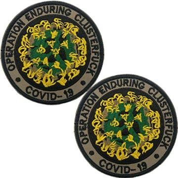 Benutzerdefinierte gestickte Patch Emblem Tactical Military Moral