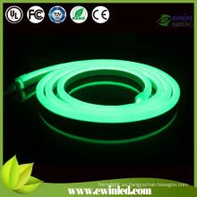 Emisión de color verde y clasificación de IP67 LED de neón