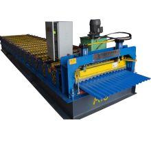 Machine à onduler les tôles de toiture en aluminium