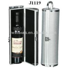 high quality aluminum wine case for single bottle factory