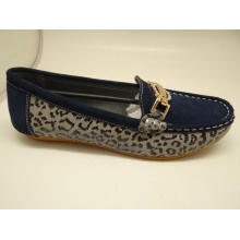 Lates sapatos de couro de lazer feminino sapatos de couro casual (fs0016)