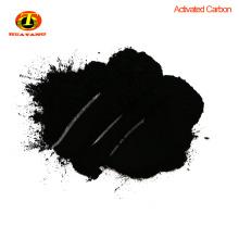 charbon charbon en poudre pour décolorer l'eau