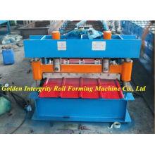 Máquina de formação de rolo de folha de telhado tipo IBR