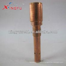 Держатель контактного наконечника горелки Co2 / mig / держатель латунного контактного наконечника