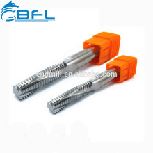 Cnc Cutting Tool Solid Carbide Milling Cutters Current Tap Polishing End Mill