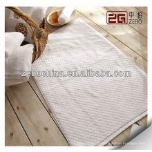 wholesale anti slip floor mats 100% cotton