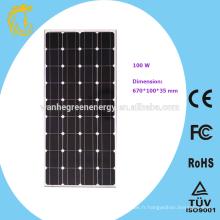 Panneau solaire photovoltaïque flexible haute tension