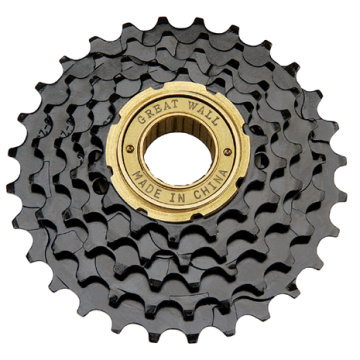 Basikal Freewheel Golden Surface Finished