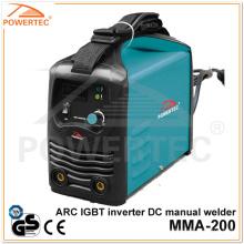 Powertec MMA-200 Arc IGBT Inverter DC Welding Machine (MMA-200B)