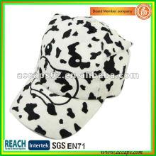 Cow animal face children baseball cap BC-c0002