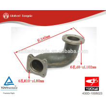 YUCHAI engine YC6108-430 After the turbine exhaust pipe 430D-1008023