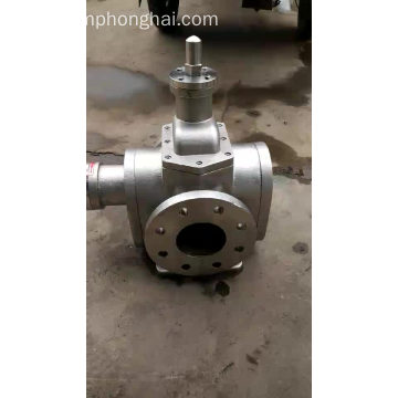Self-priming gear pump