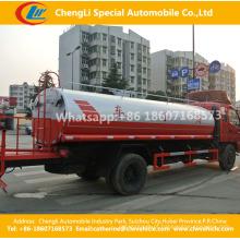 Veículos do caminhão de tanque da água de 7-8cbm 4X2