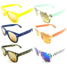 Nuevas gafas de sol vendedoras calientes del wayfarar UV400 del patrón colorido (20131)